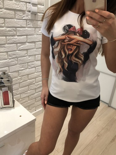 T-SHIRT MICKEY BLONDE